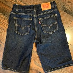 Levi's 505 Boys Denim Shorts Size 14R like new